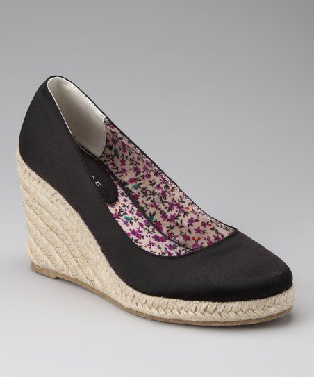 Black Mathilda Espadrille