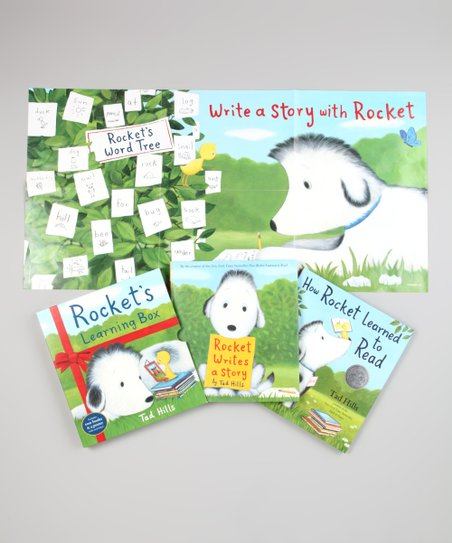 Rocket's Learning Box Hardcover Set