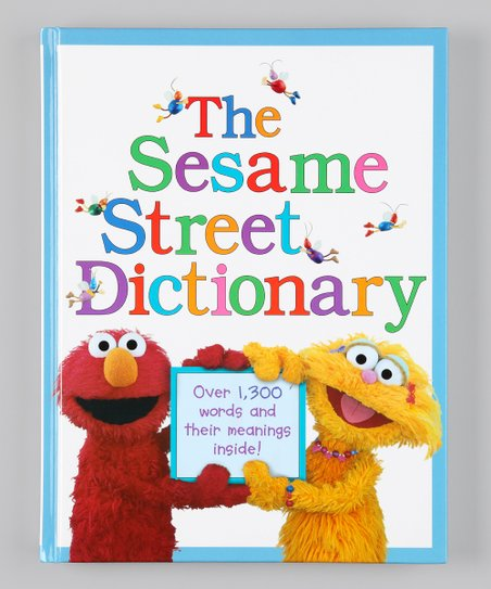 The Sesame Street Dictionary Hardcover