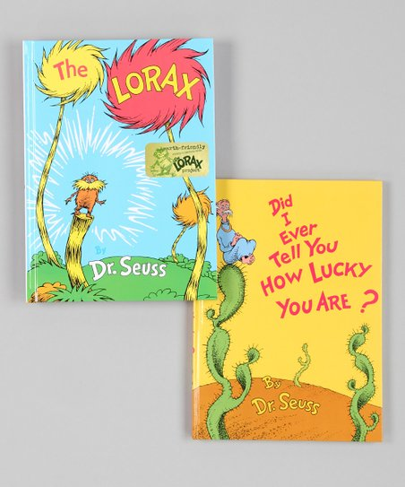 The Lorax & Did I Ever Tell You Hardcover Set