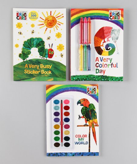Paint & Color Activity Book Set