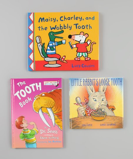Tooth Fairy Hardcover Book Set