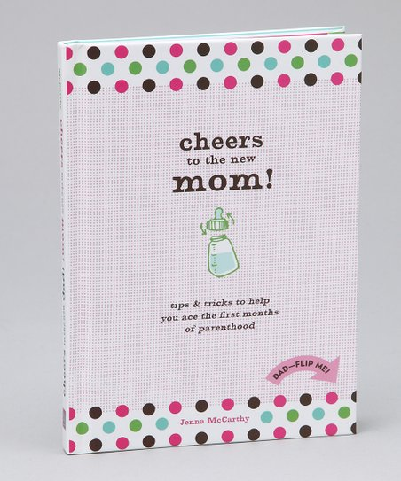 Cheers to New Mom!/Dad! Hardcover