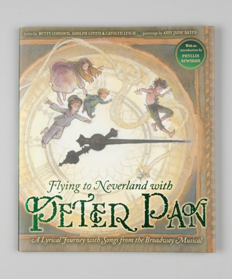 Flying to Neverland with Peter Pan Hardcover