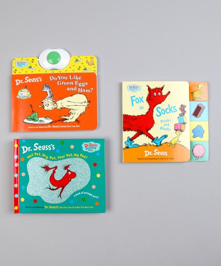 Dr. Seuss Board Book Set