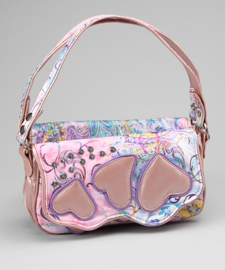 Pink Victorian Butterfly 2-in-1 Friendship Bag