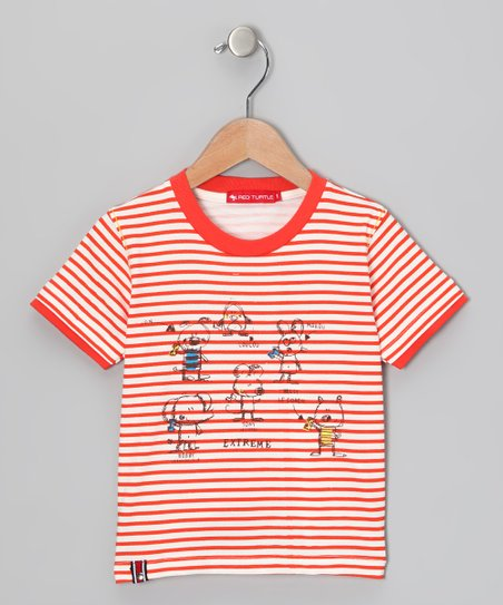 Red Stripe 'Extreme' Tee - Infant & Toddler