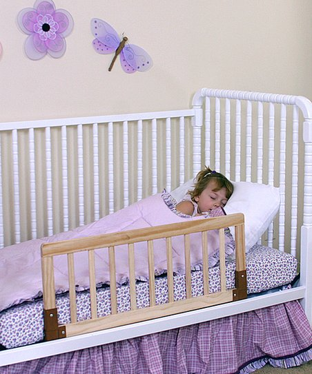 Wood Deluxe Portable Crib Rail