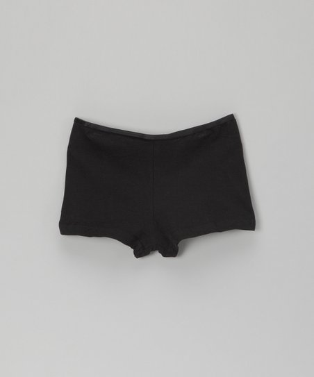 Black Undershorts - Girls