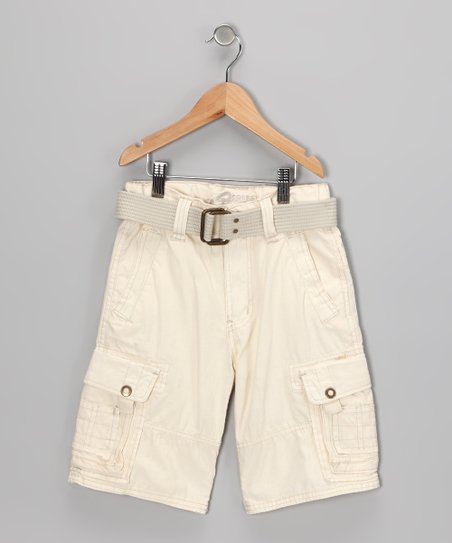 Stone Cargo Shorts - Boys