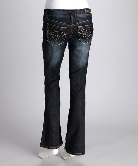 Request Jeans Rivington Athletic Fit Bootcut Jeans