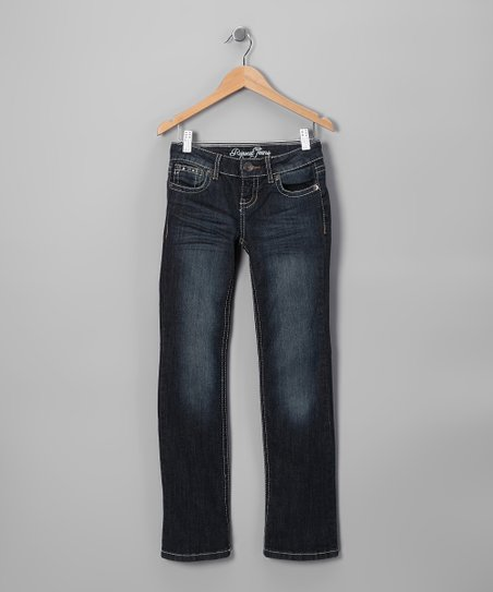 Dark Wash Martine Straight-Leg Jeans - Toddler & Girls