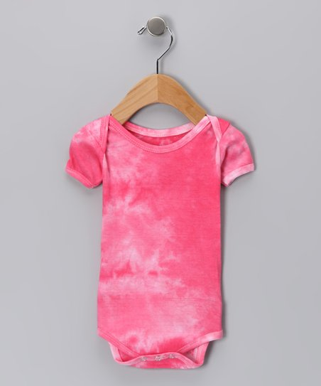 Pink Tie-Dye Bodysuit - Infant