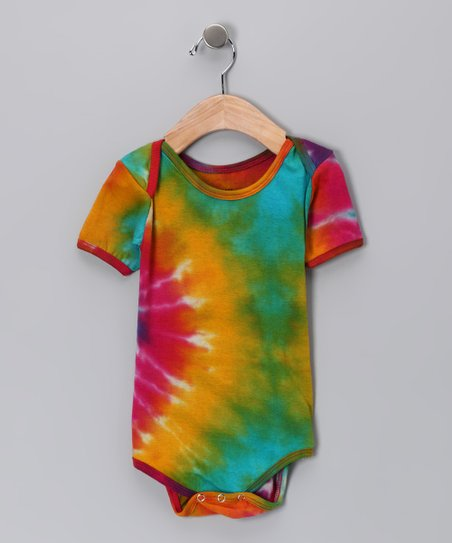 Rainbow Tie-Dye Bodysuit - Infant