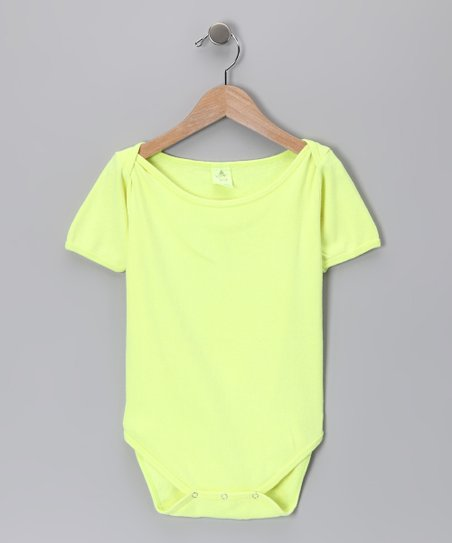 Neon Yellow Bodysuit - Infant