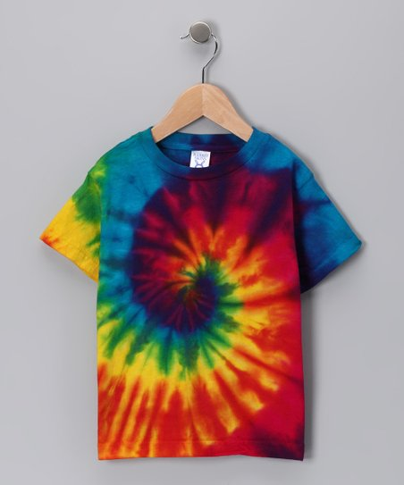 Rainbow Spider Tie-Dye Tee - Infant