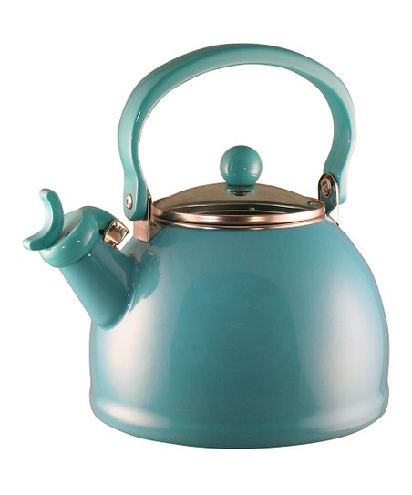 Turquoise 2.2-Qt. Whistling Teakettle