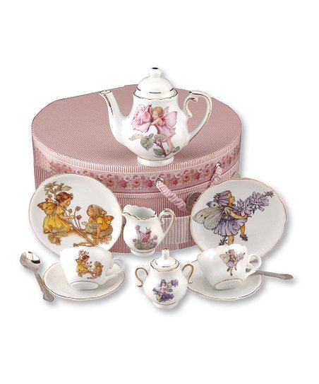 Flower Fairies 15-Piece Tea Set