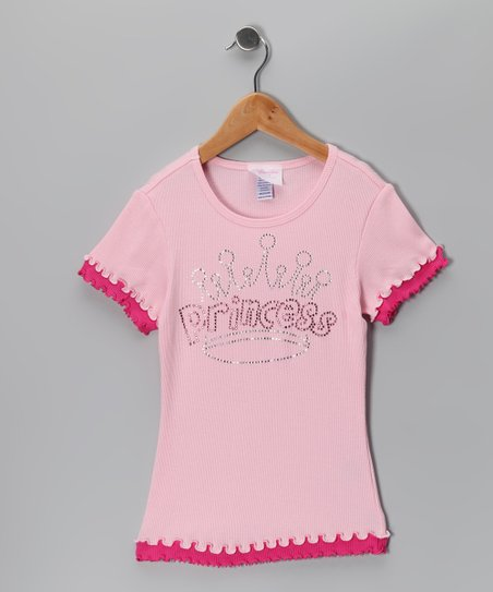 Pink 'Princess' Tee - Infant & Girls