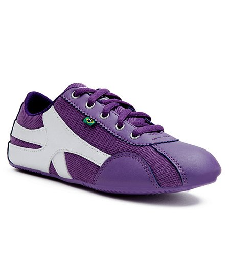 Purple & Silver Violeta Sneaker - Women