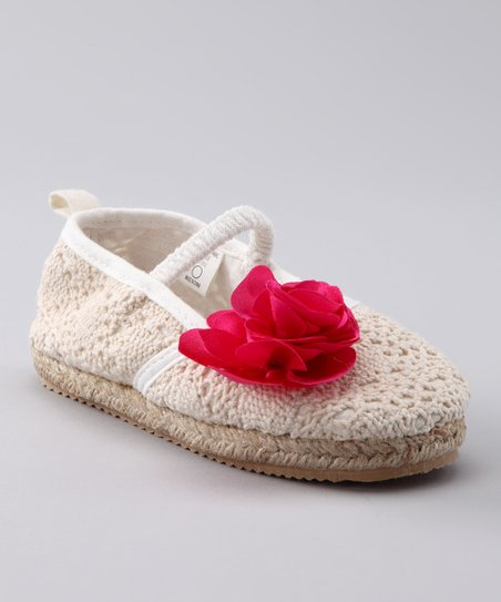 Rising Star White Maryanne Flat