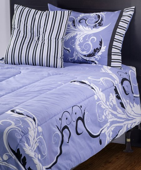 Rizzy Home Filigree Comforter Set