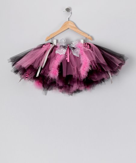 Hot Pink &amp; Black Adison Tutu - Toddler &amp; Girls