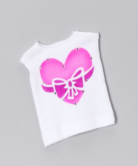 White All Wrapped Up Doll Tank