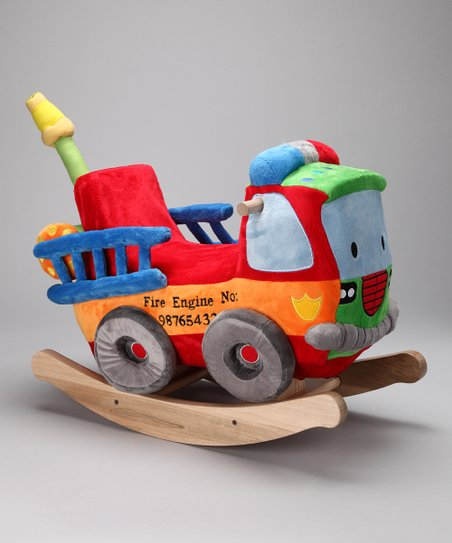 Blaze Fire Engine Rocker