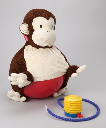 Mocha Monkey Bouncersize Ball Set