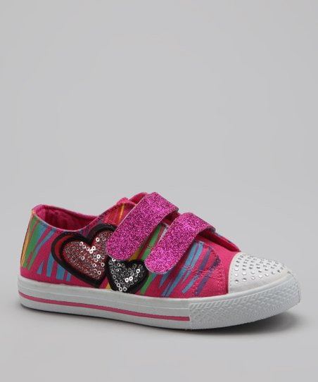 Fuchsia Holly Sneaker