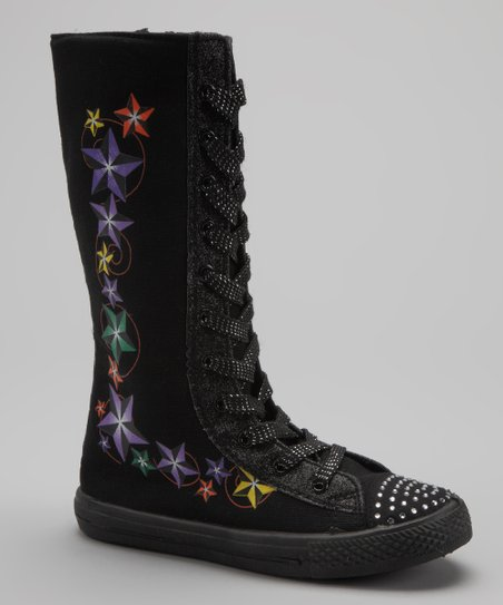 Black Star-02k Extra Hi-Top Boot