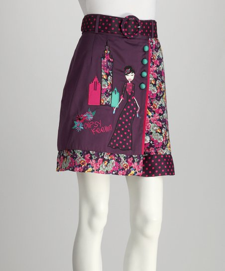 Purple Greta Skirt - Women
