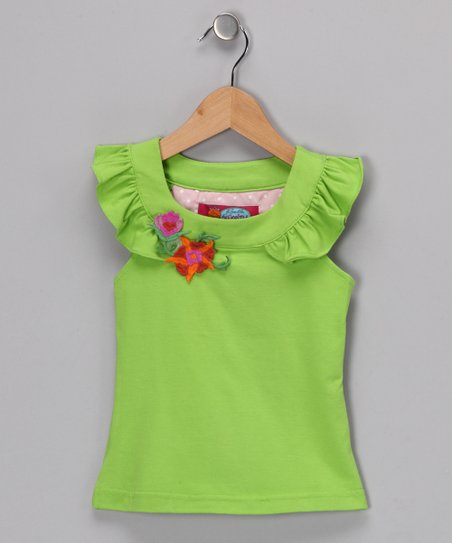 Lime Bertinelli Tee - Girls