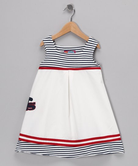 White Sue Dress - Girls