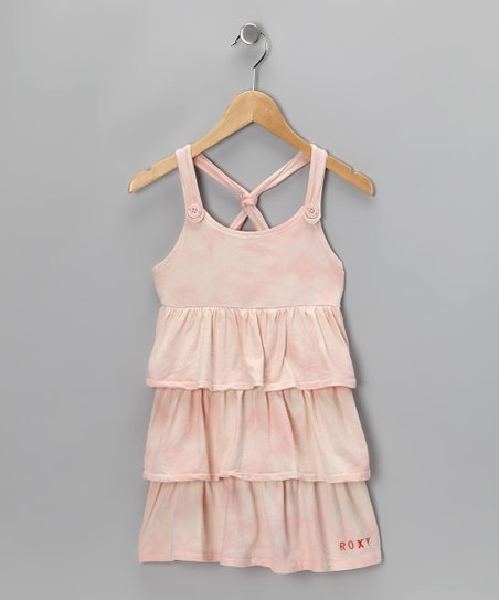 Light Pink Rockin' It Dress - Girls