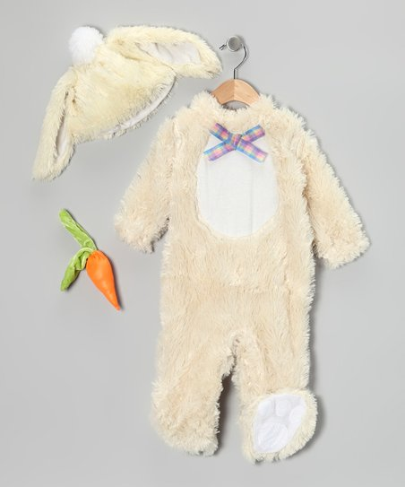 Rubie's White Vanilla Bunny Dress-Up Set - Infant