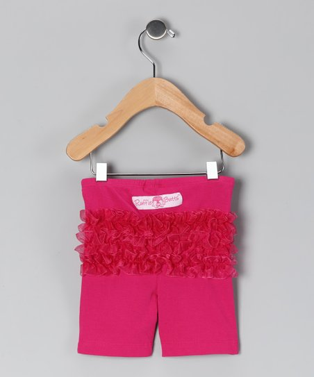 Fuchsia Playground Shorts - Toddler