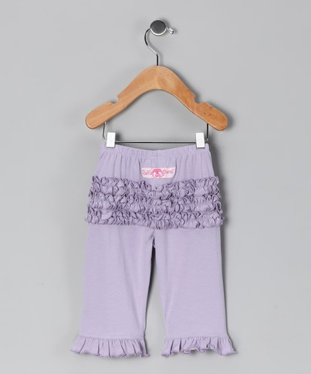 Lavender Ruffle Pants - Infant & Toddler