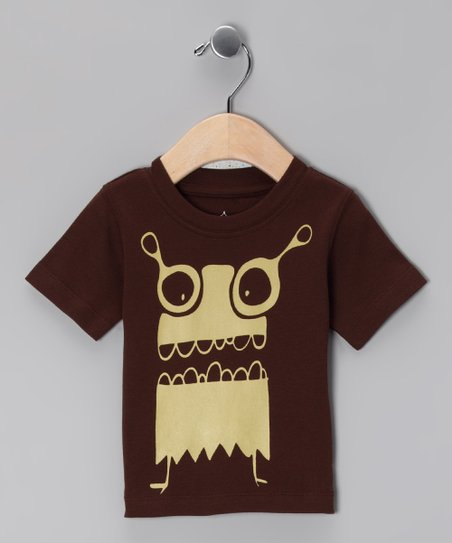 Brown Mommy's Monster Tee - Infant & Toddler