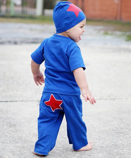Blue Star Pants - Infant