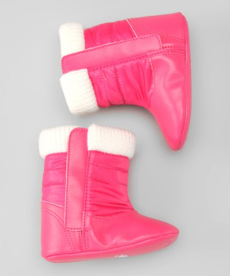 Rose & Off-White Boot