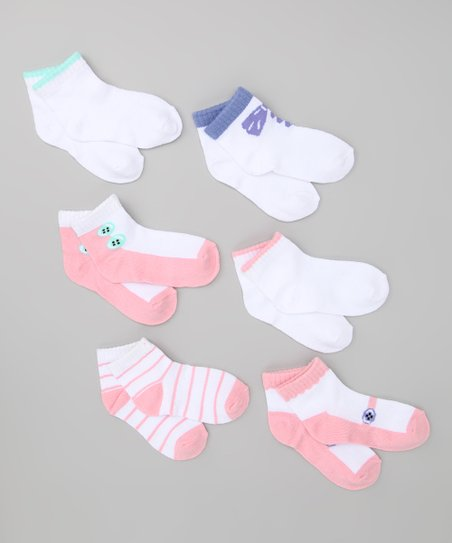 Light Pink Shoe Socks Set