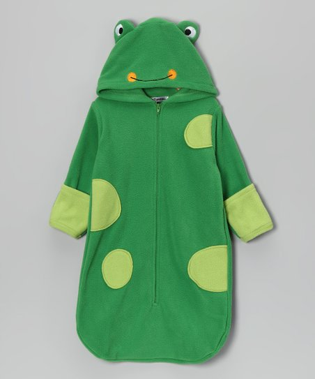 Green Frog Bunting Bag - Infant