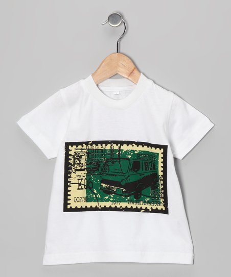 White Car Tee - Infant, Toddler & Boys