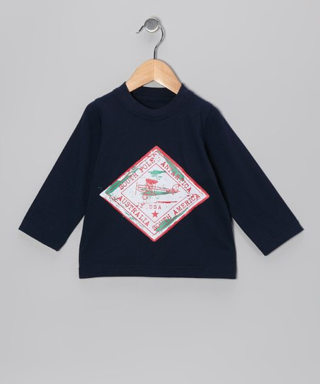 Navy Plane Tee - Infant, Toddler & Boys