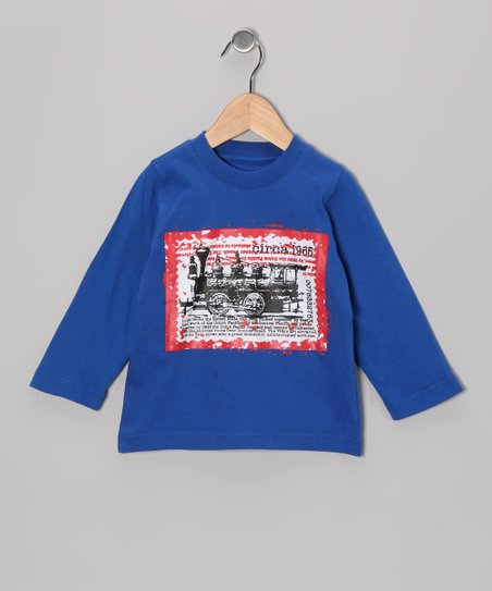 Royal Blue Train Tee - Infant, Toddler & Boys