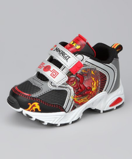 Red & Gray Ninja Sneaker