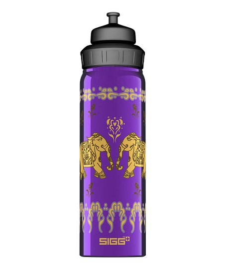 Mauve Yoga Wide Mouth 25-Oz. Water Bottle