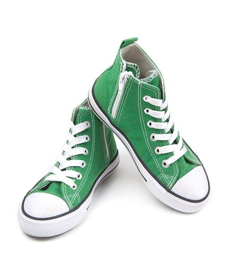 Green Hi-Top Sneaker